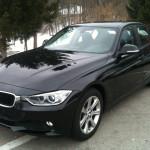 BMW 320d Limousine in schwarz